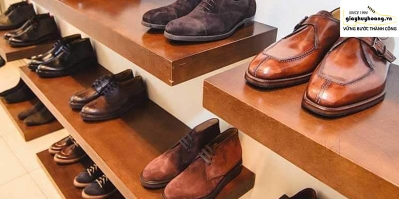 Cửa hàng giày tây da bò nam ở huyện nhà bè TPHCM đẹp 001
