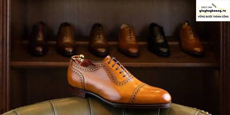Cửa hàng giày tây nam da bò đẹp ở quận 1234567 chính hãng 001