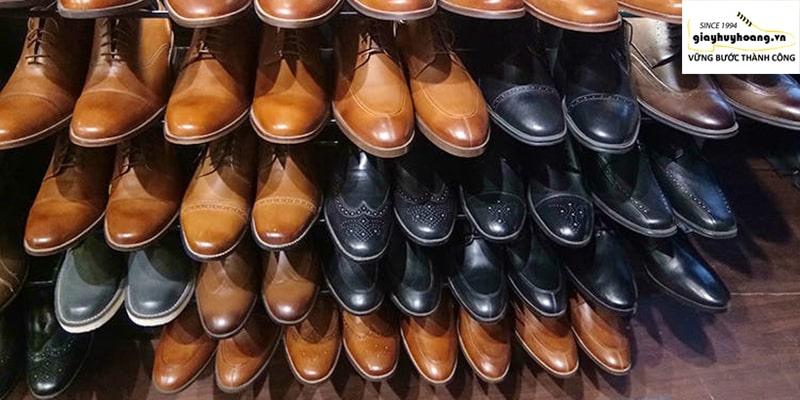 Mua ngay cửa hàng giày da nam chính hãng cao cấp ở quận 89101112 Tcphm 002