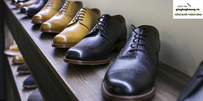 Cửa hàng giày da tại quận bình thạnh cao cấp handmade 001