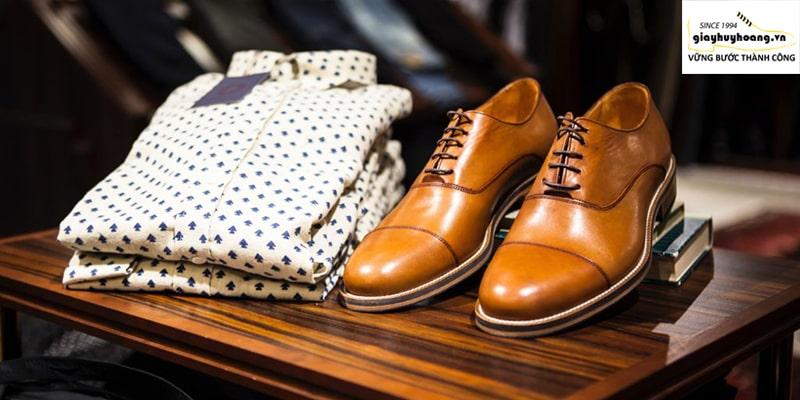 Cửa hàng giày da bò nam thủ công tân bình TPHCM đẹp 002