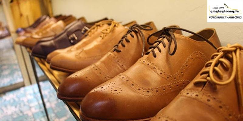 Shop giày da bò nam ở quận thủ đức tại TPHCM HH Shoes đẹp cao cấp 002