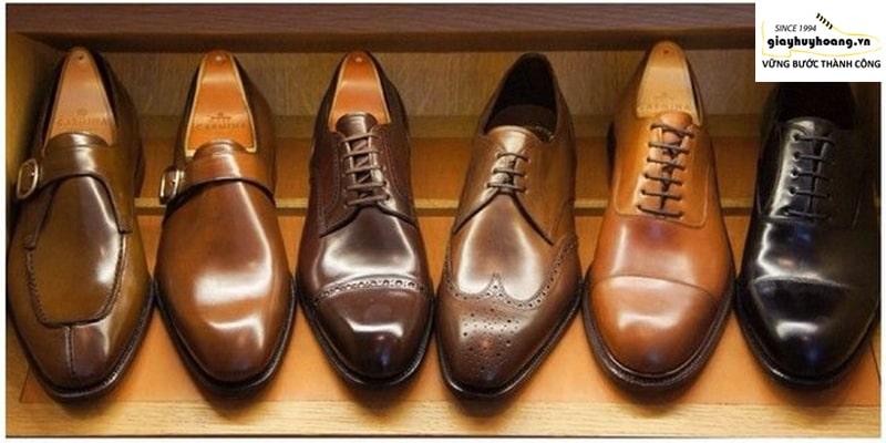 Shop giày da bò nam ở quận thủ đức tại TPHCM HH Shoes đẹp cao cấp 001