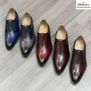 Giày da nam đẹp Oxford Vyhofoco GM042 chính hãng 001