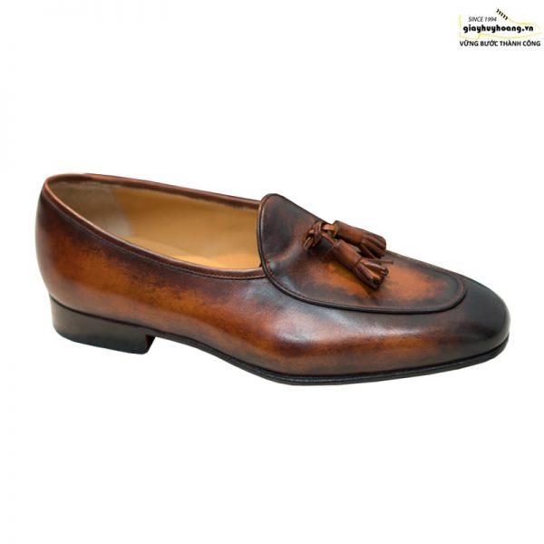 Giày lười da bò nam Loafer Vyhofoco Mkd5 cao cấp 001