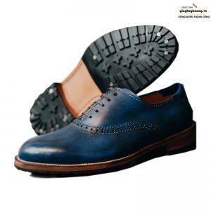 Giày Tây da nam Oxford Knar Arges cao cấp chính hãng 001