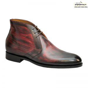 Giày tây nam da bò cổ lửng chukka boot vyhofoco vh59 cao cấp 001