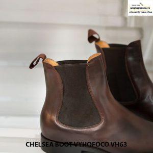 Giày tây da bò nam cổ cao chelsea boot vyhofoco vh63 cao cấp 005