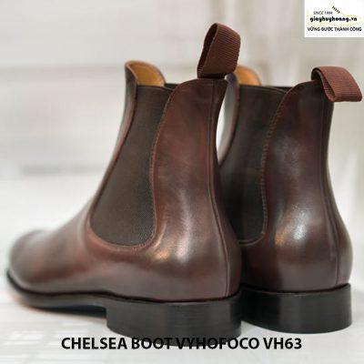Giày da bò nam cổ cao chelsea boot vyhofoco vh63 cao cấp 004