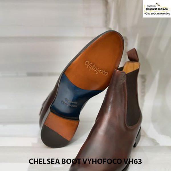Giày tây da bò nam cổ cao chelsea boot vyhofoco vh63 giá rẻ 003