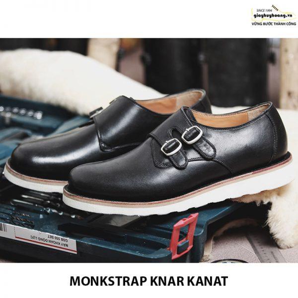 Bán giày tây nam da bò sneaker đẹp monkstrap knar kanat 07 007