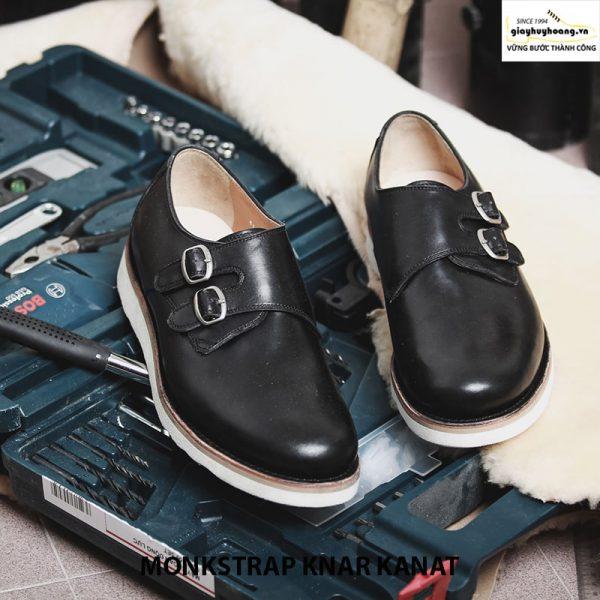 Bán giày tây nam da bò sneaker đẹp monkstrap knar kanat 07 001