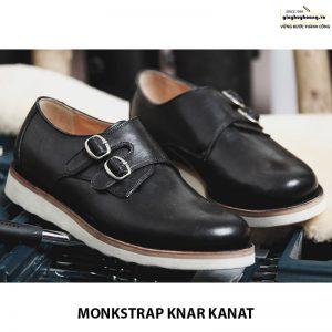 Bán giày tây nam da bò sneaker đẹp monkstrap knar kanat 07 006