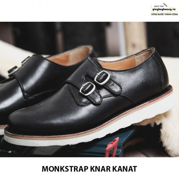Bán giày tây nam da bò sneaker đẹp monkstrap knar kanat 07 005