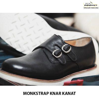 Bán giày tây nam da bò sneaker đẹp monkstrap knar kanat 07 004
