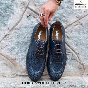 Giày tây da nam Derby Vyhofoco CH52 chính hãng cao cấp 006