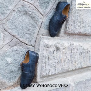 Giày da nam giá rẻ Derby Vyhofoco CH52 chính hãng cao cấp 003