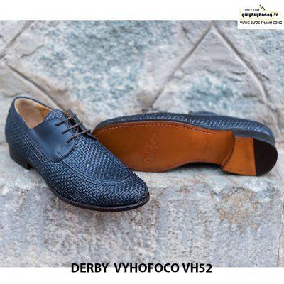 Giày da nam đẹp Derby Vyhofoco CH52 chính hãng cao cấp 003