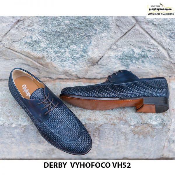 Giày da bò nam Derby Vyhofoco CH52 chính hãng cao cấp 002