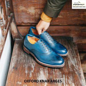 Giày Tây da nam đẹp Oxford Knar Arges cao cấp chính hãng 005