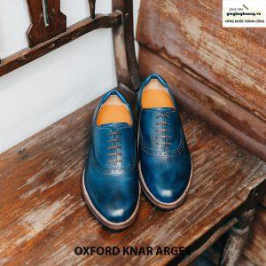 Giày nam da đẹp Oxford Knar Arges cao cấp chính hãng 004