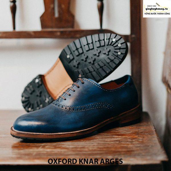 Giày da bò thật nam Oxford Knar Arges cao cấp chính hãng 003