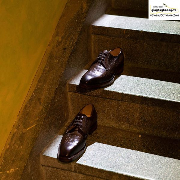 Giày tây da nam Derby Knar ORSON 008