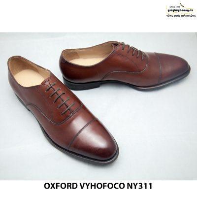 Giày tây da nam Oxford vyhofoco NY311 chính hãng 001