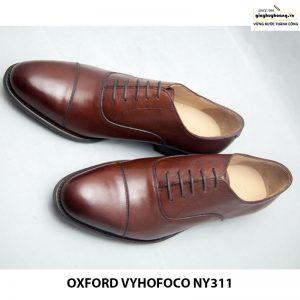 Giày nam da bò Oxford vyhofoco NY311 chính hãng 003