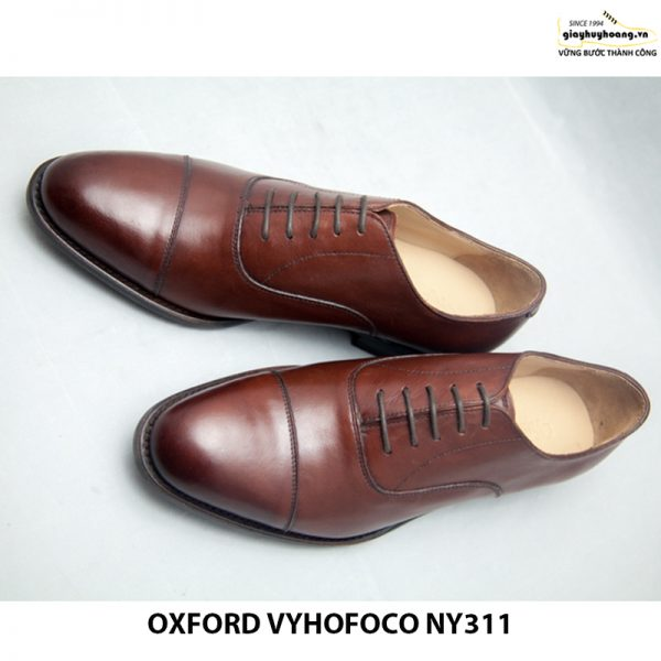 Giày da bò nam Oxford vyhofoco NY311 chính hãng 002