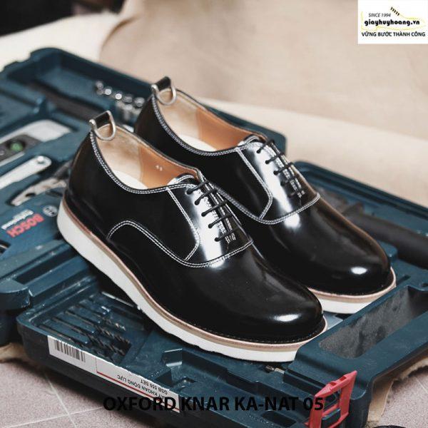 Giày tây nam da bò Oxford kanat 05 cao cấp chính hãng 001