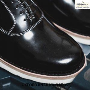 Giày tây nam da bò thật Oxford kanat 05 cao cấp chính hãng 004