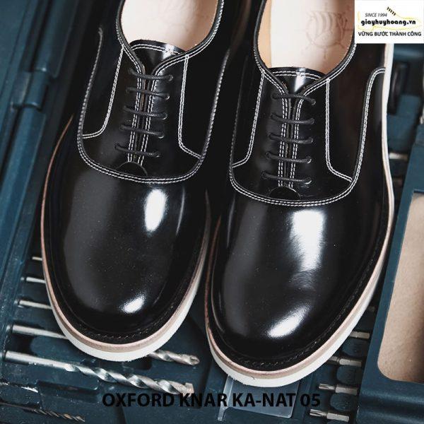 Giày nam da bò thật Oxford kanat 05 cao cấp chính hãng 003