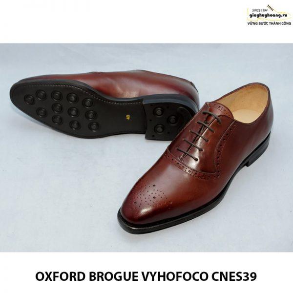 Giày da nam oxford vyhofoco cnes39 chính hãng cao cấp 010
