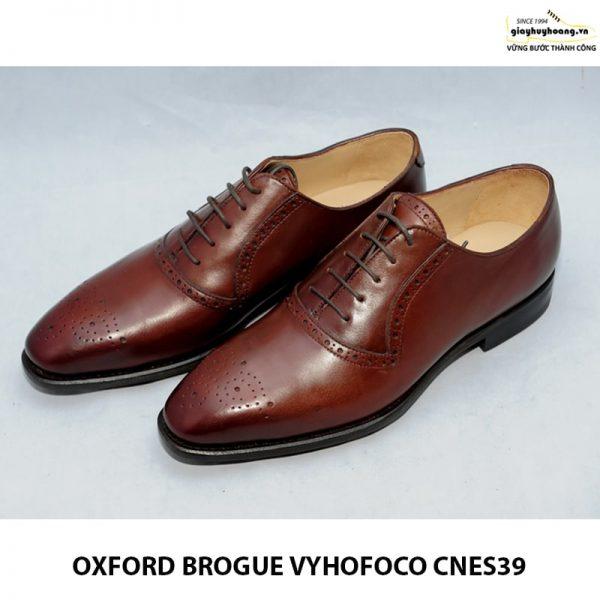Giày da nam oxford vyhofoco cnes39 chính hãng cao cấp 009