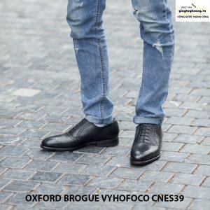 Giày da nam giá rẻ oxford vyhofoco cnes39 chính hãng cao cấp 007