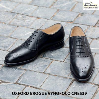 Giày nam da bò oxford vyhofoco cnes39 chính hãng cao cấp 003