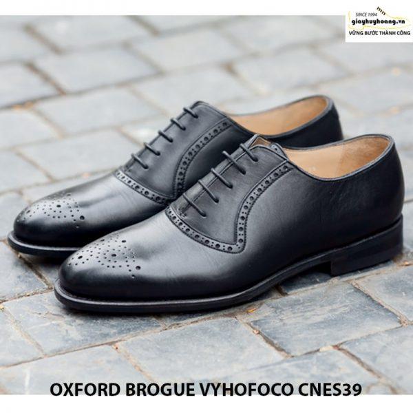 Giày da nam oxford vyhofoco cnes39 chính hãng cao cấp 001