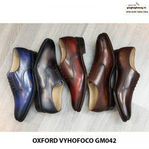 Giày da nam đẹp Oxford Vyhofoco GM042 chính hãng 015