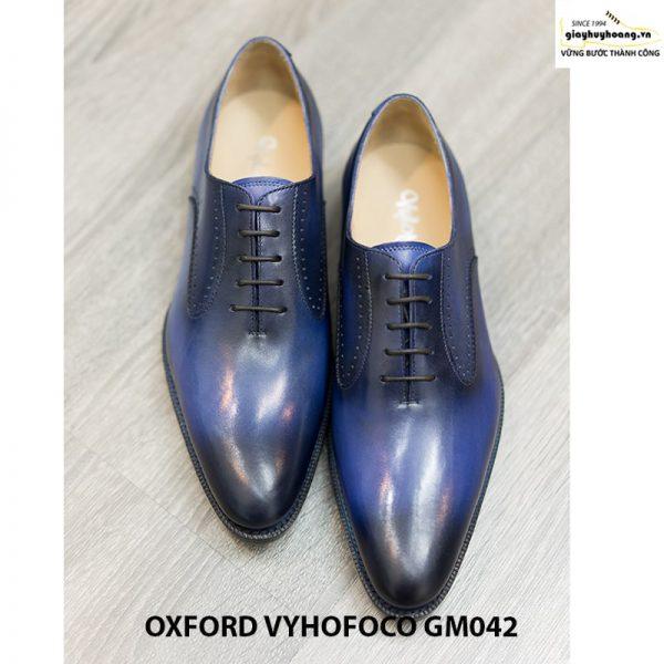 Giày da nam đẹp Oxford Vyhofoco GM042 chính hãng 014