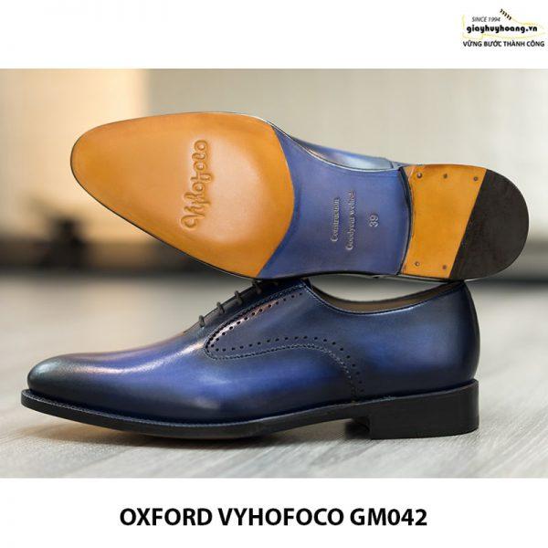 Giày da nam đẹp Oxford Vyhofoco GM042 chính hãng 013