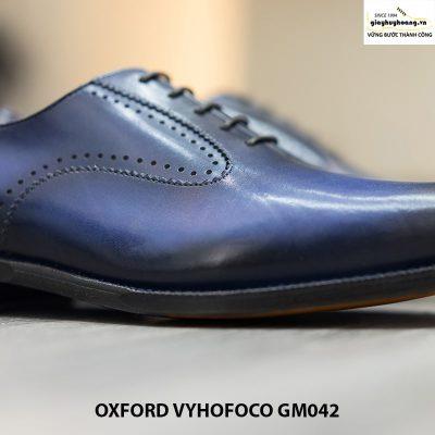 Giày da nam đẹp cao cấp Oxford Vyhofoco GM042 chính hãng 012