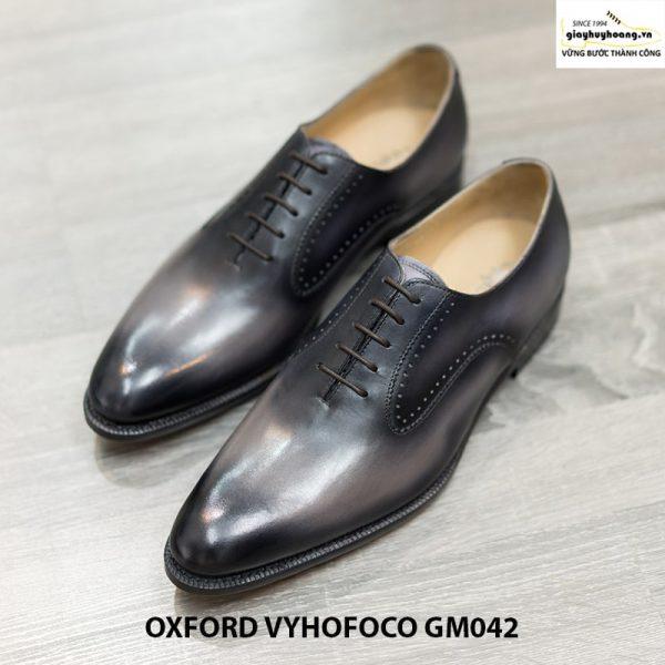 Giày da nam đẹp Oxford Vyhofoco GM042 chính hãng 008