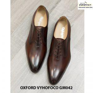 Giày tây nam đẹp Oxford Vyhofoco GM042 chính hãng 007