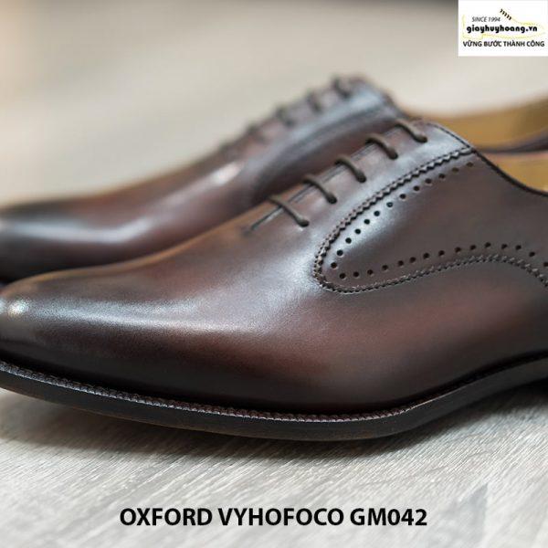 Giày da nam đẹp cao cấp Oxford Vyhofoco GM042 chính hãng 006