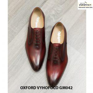 Giày da nam đẹp giá rẻ Oxford Vyhofoco GM042 chính hãng 005