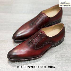 Giày nam da bò đẹp Oxford Vyhofoco GM042 chính hãng 004