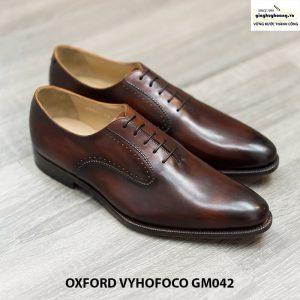 Giày da nam đẹp Oxford Vyhofoco GM042 đẹp 003