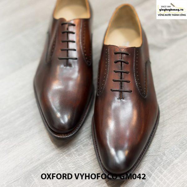 Giày tây da nam đẹp Oxford Vyhofoco GM042 chính hãng 002