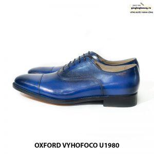 Giày tây nam da bò cao cấp đẹp Oxford Vyhofoco U1980 012